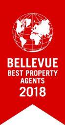 Logo Bellevue Best Property Agents 2018
