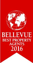 Logo Bellevue Best Property Agents 2016